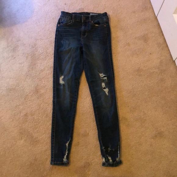 Aeropostale Denim - aeropostale high waisted jeans